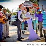 Cancun Trash the Dress Photography