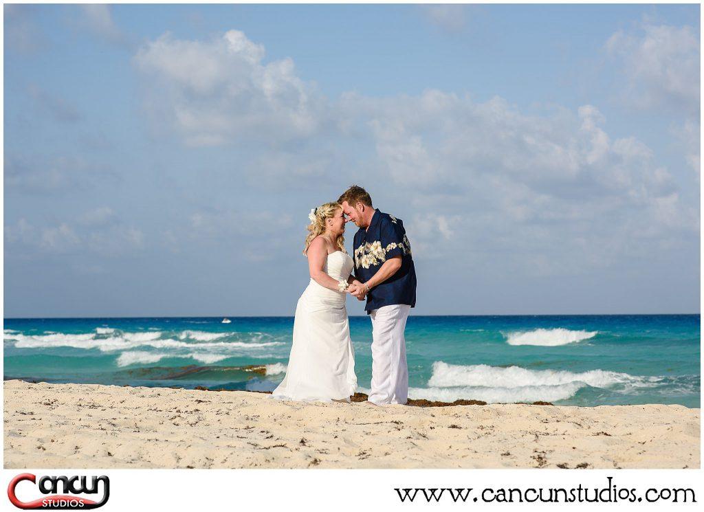 beach honeymoon