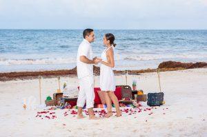 Cancun Surprise Marriage Proposal